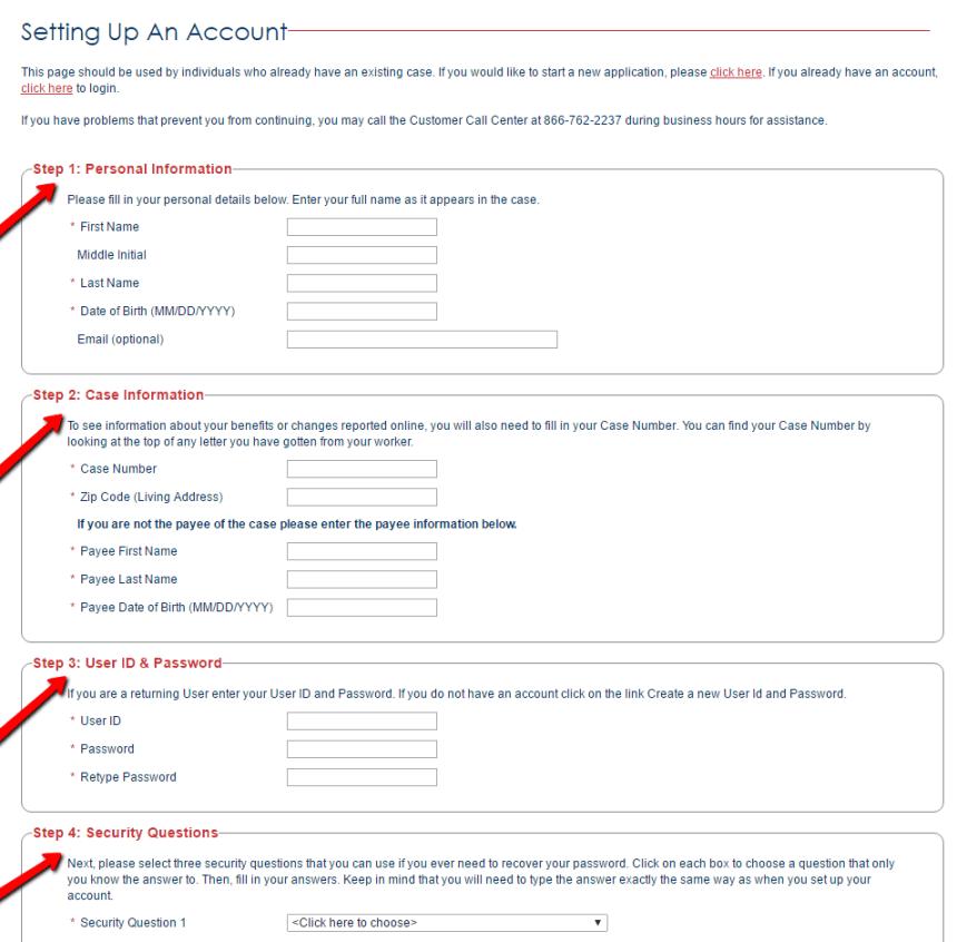 My Access Florida Account