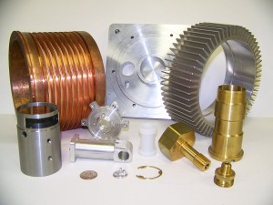 Some Parts Produced by Schwab's Screw Machine