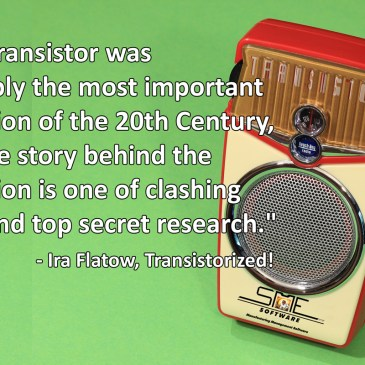 Shockley, Bardeen and Brattain – The Birth of the Transistor – Trans-Resistance – Silicon Valley.