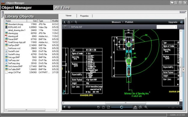object manager - quality control software for manufacturing