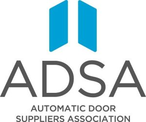 ADSA Automatic Door Suppliers Association for installation maintenance repairs