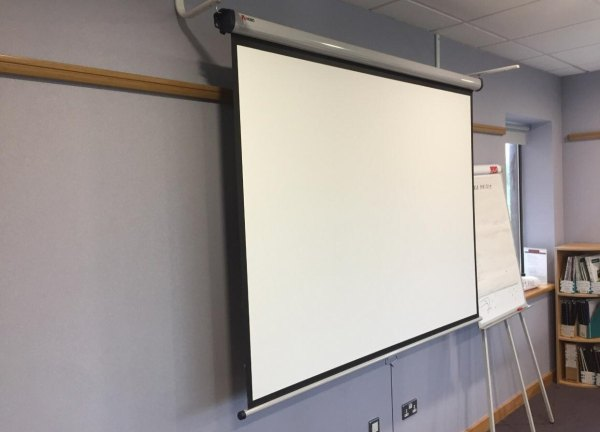 Use Projector Wallpaper Not Screens - Smarter Surfaces Blog