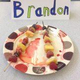 Brandon fruit kebab