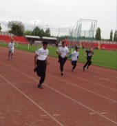 Y8 Gateshead athletics race
