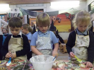 Reception cooking