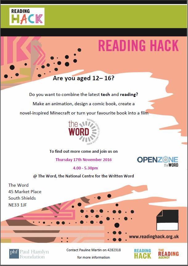 reading hack flier