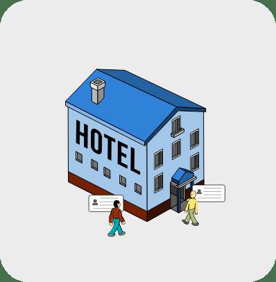 โปรแกรมโรงแรม front office