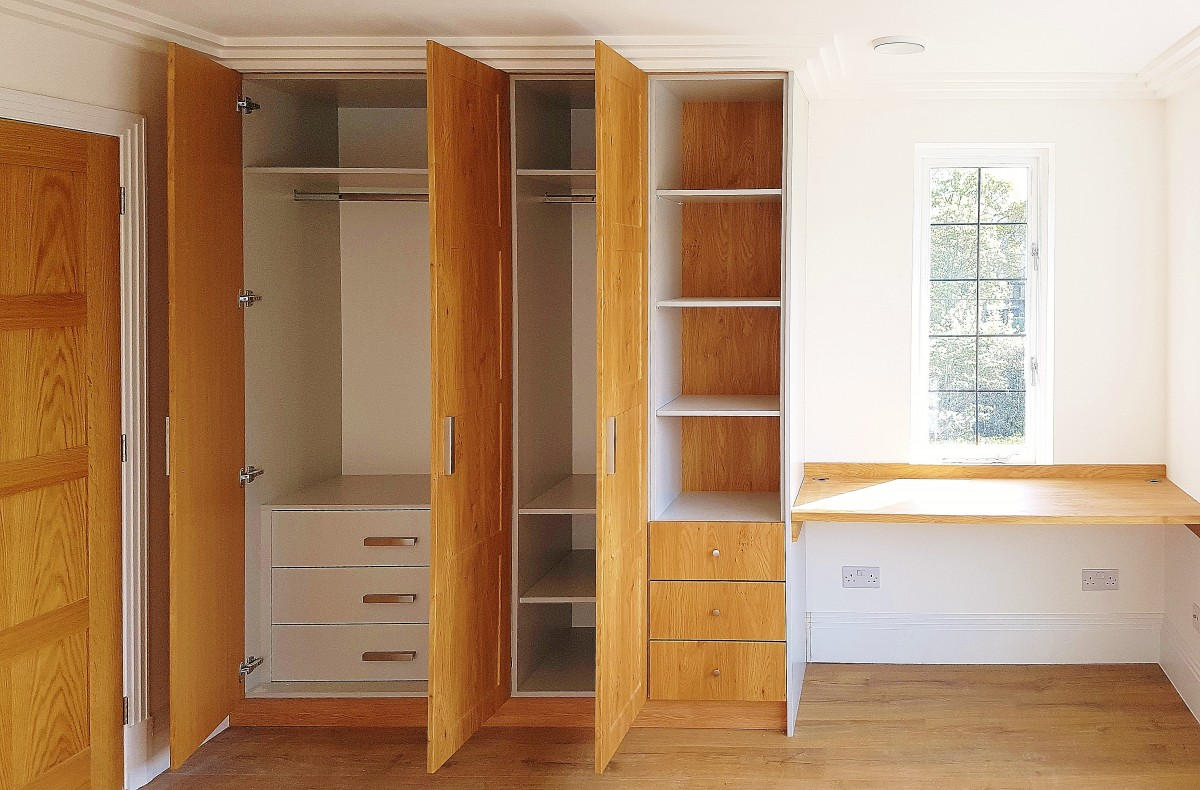Two Color Bedroom Wardrobe To Achieve A Great Mood Smart