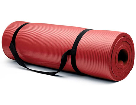 Crown Sporting Goods 5/8-Inch Extra Thick Yoga Mat | Top 10 Best Padded Workout Mats For Home Exercise