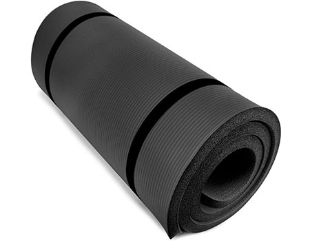 "Yoga Cloud Ultra-Thick 1"" Yoga and Exercise Mat 