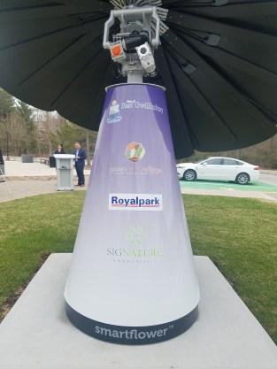 Smartflower Canada Installation 2019