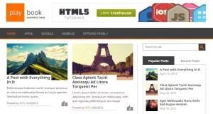 PlayBook Tema WordPress