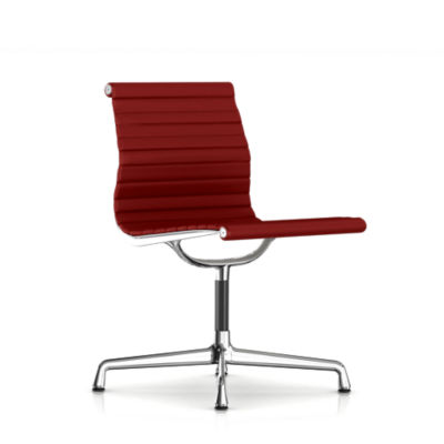 eames aluminum chair tall wingback white armless side in fabric smart furniture picture of by herman miller