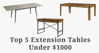 Extending Expandable Dining Tables SmartFurniturecom