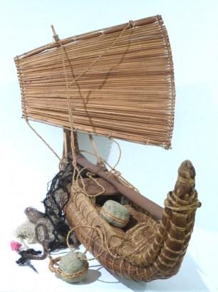 Totora Boat