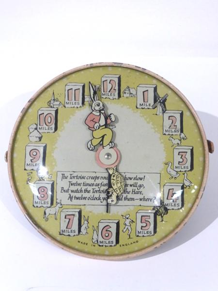 Hare And Tortoise Clock