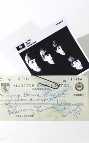 The Beatles Autographs