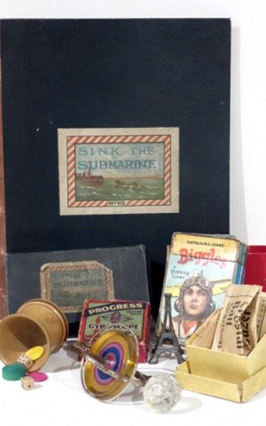 Playing Games From 1910-1950