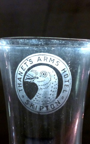 Thanet's Arms Hotel Glass