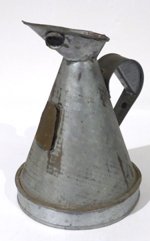 Oil Jug From India