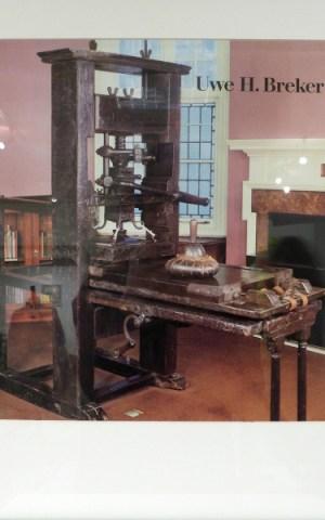 Gutenberg Press And Rockwell Letterpress