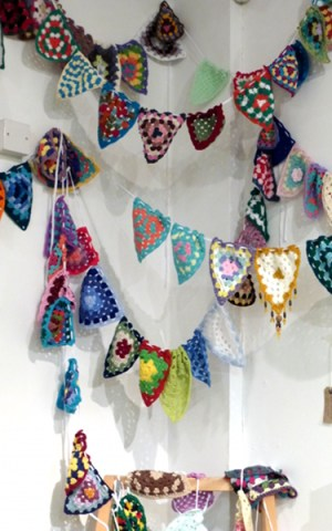 Skipton Yarn Fest Wool Bunting