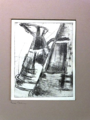 Anne Thompson's Drypoint Prints