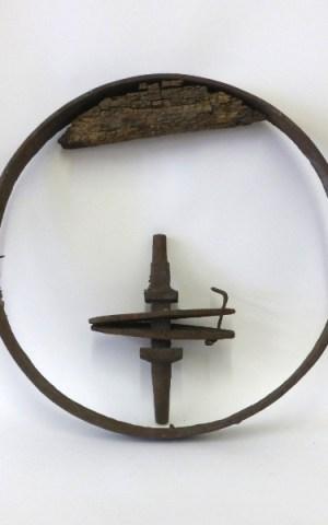 Remains Of A Welsh Wheelbarrow