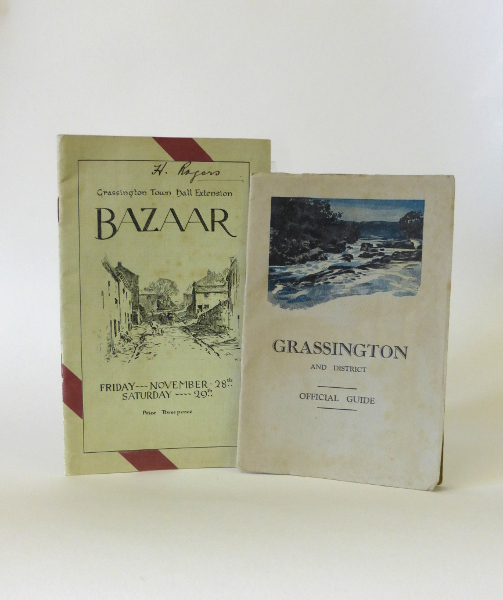 Bazaar- Booklet & Grassington District Official Guide, 1930s