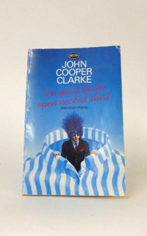 John Cooper Clarke Poetry Book