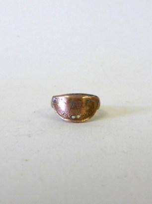 Wedding Ring & Brooch
