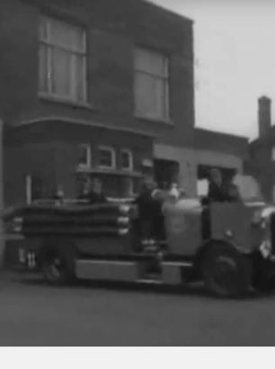 Gipton Fire Station 1950s – British Pathe Film