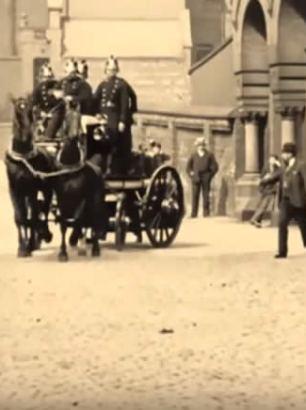 Leeds Fire Brigade 1901