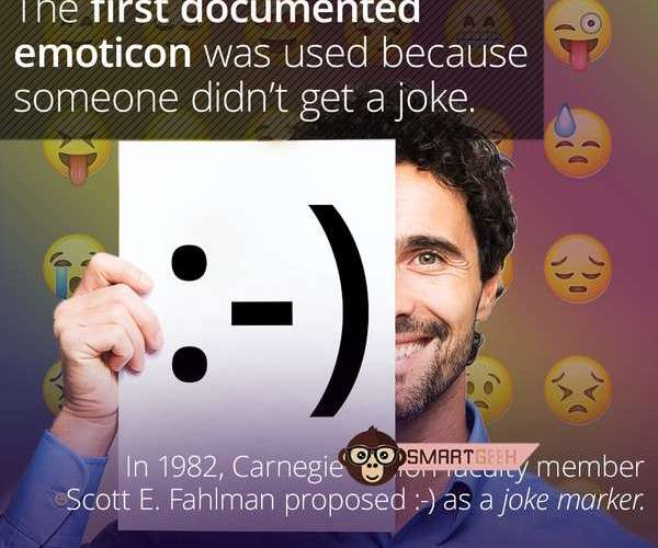 d7731780 8cc8 4c92 cd0a 159d73f049c1 Do You Know ? The First Documented Emoticon Was Proposed After A Bad Joke