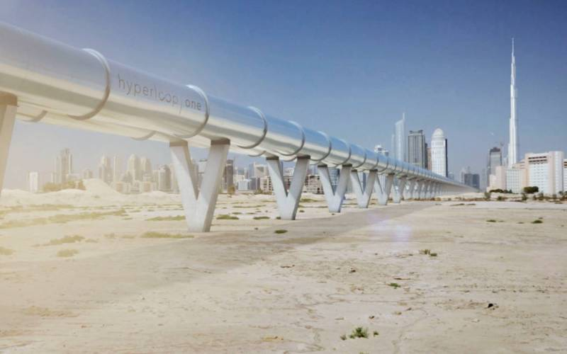 download Hyperloop One to Debut Futuristic Transport System in Dubai