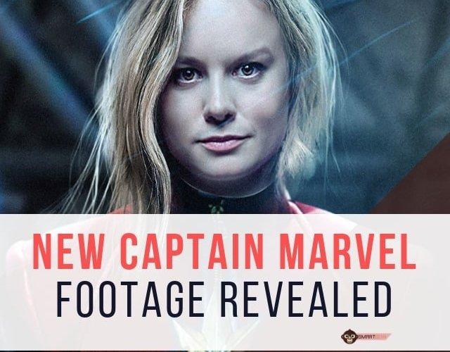 smargeek Brie Larson Shines in New CAPTAIN MARVEL Trailer
