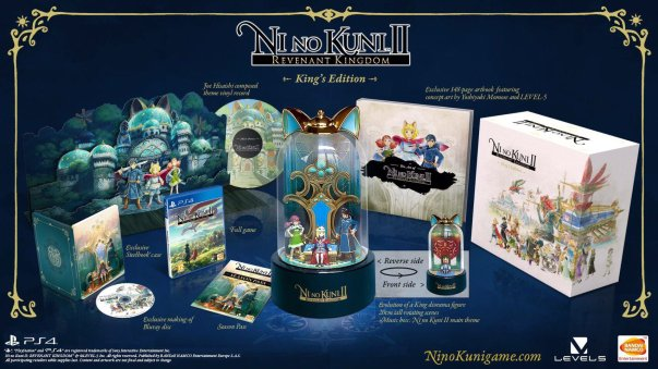 Ni No Kuni II collector King's edition limitee limited