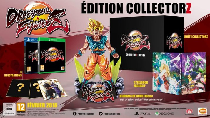 Dragon Ball Fighter Z Collector Edition Limitee