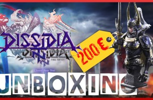 Unboxing – Dissidia Final Fantasy NT Ultimate Collector's Edition