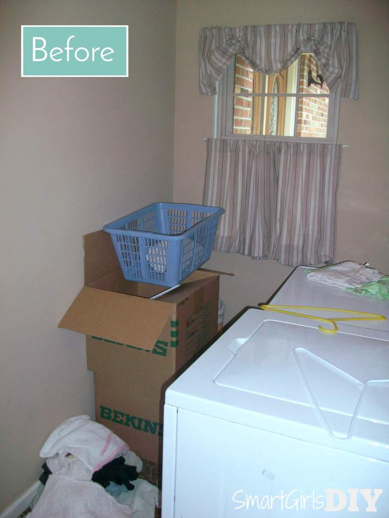 Laundry room renovation - before