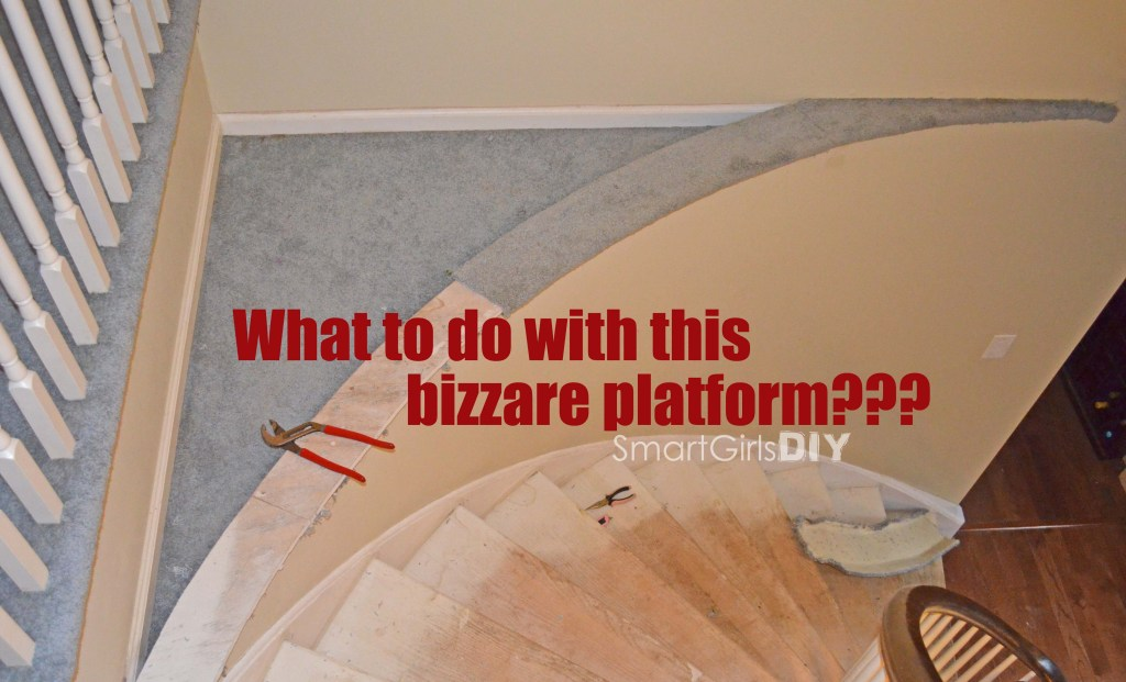 What to do with this bizzare platform