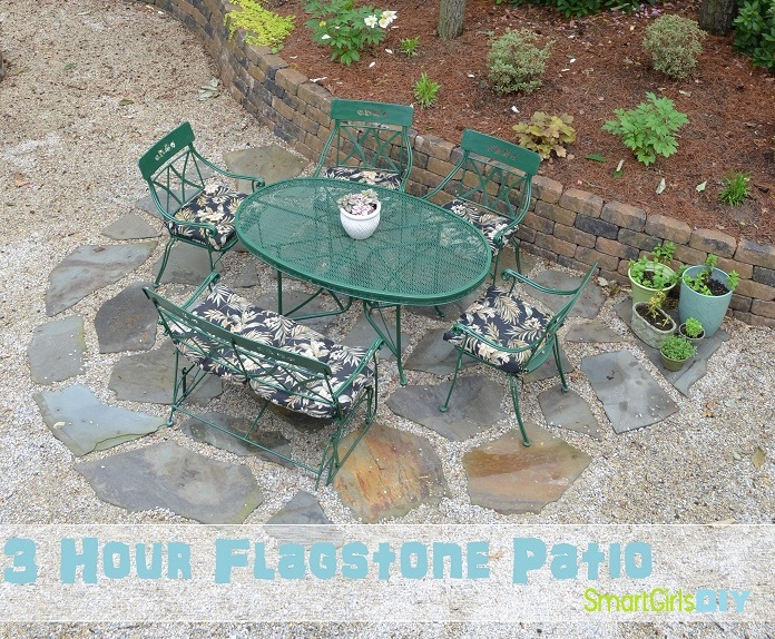 3 hour flagstone patio