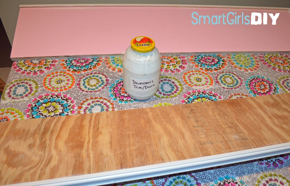 Smart Girls DIY Painting Shelves 2