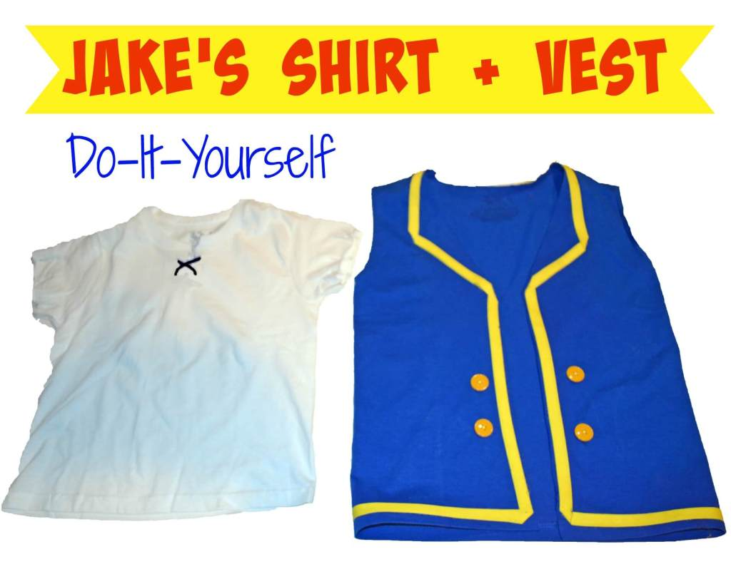 Jakes shirt and vest - do it yourself costume