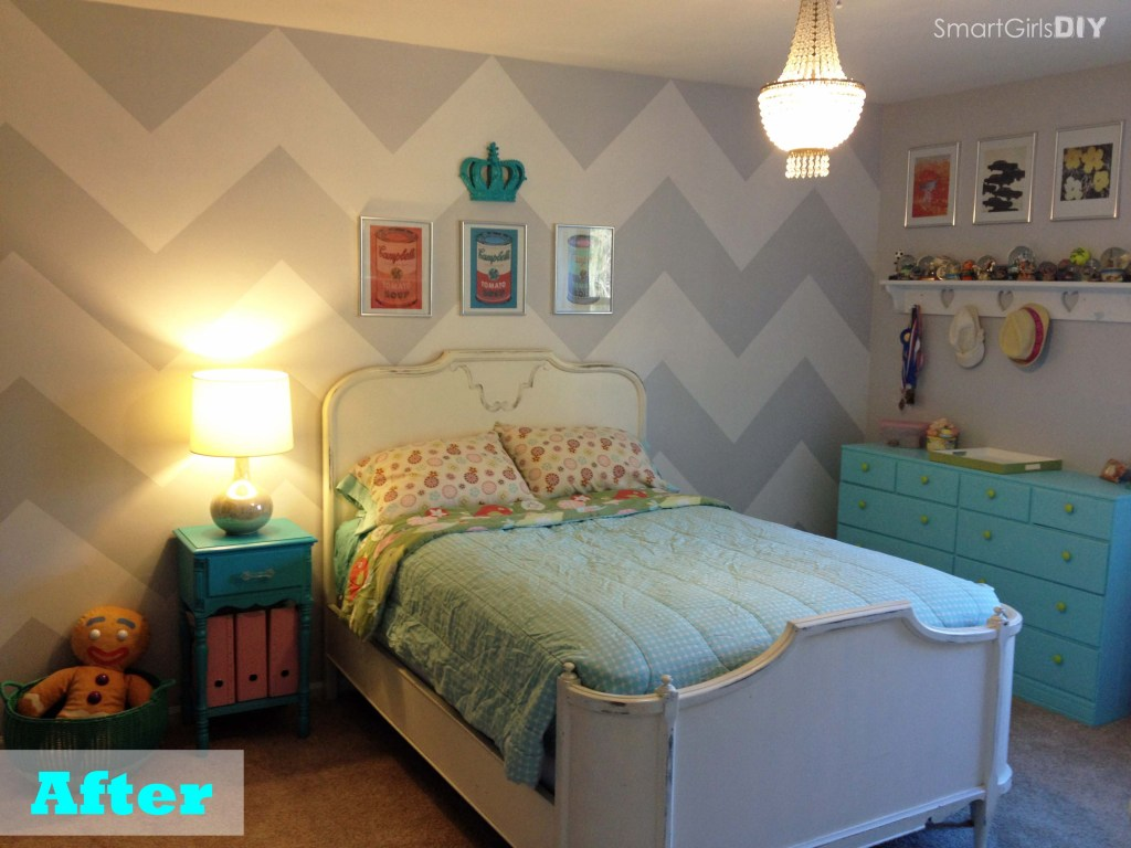 Chevron Wall - after