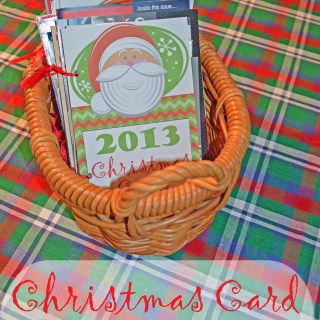Organizing Christmas Cards — Free Printables