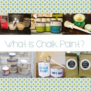 All About Chalk Paint