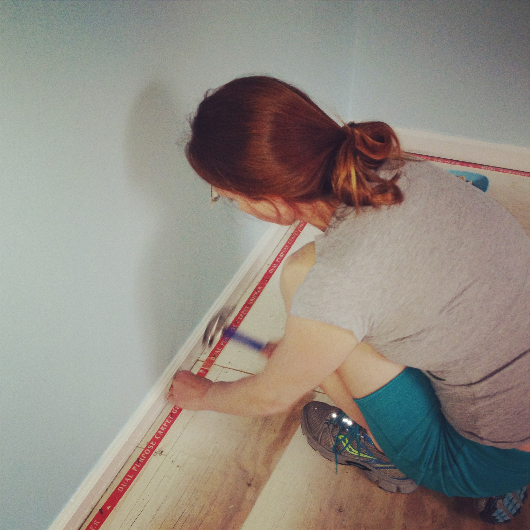 Carpet Tack Strip Install