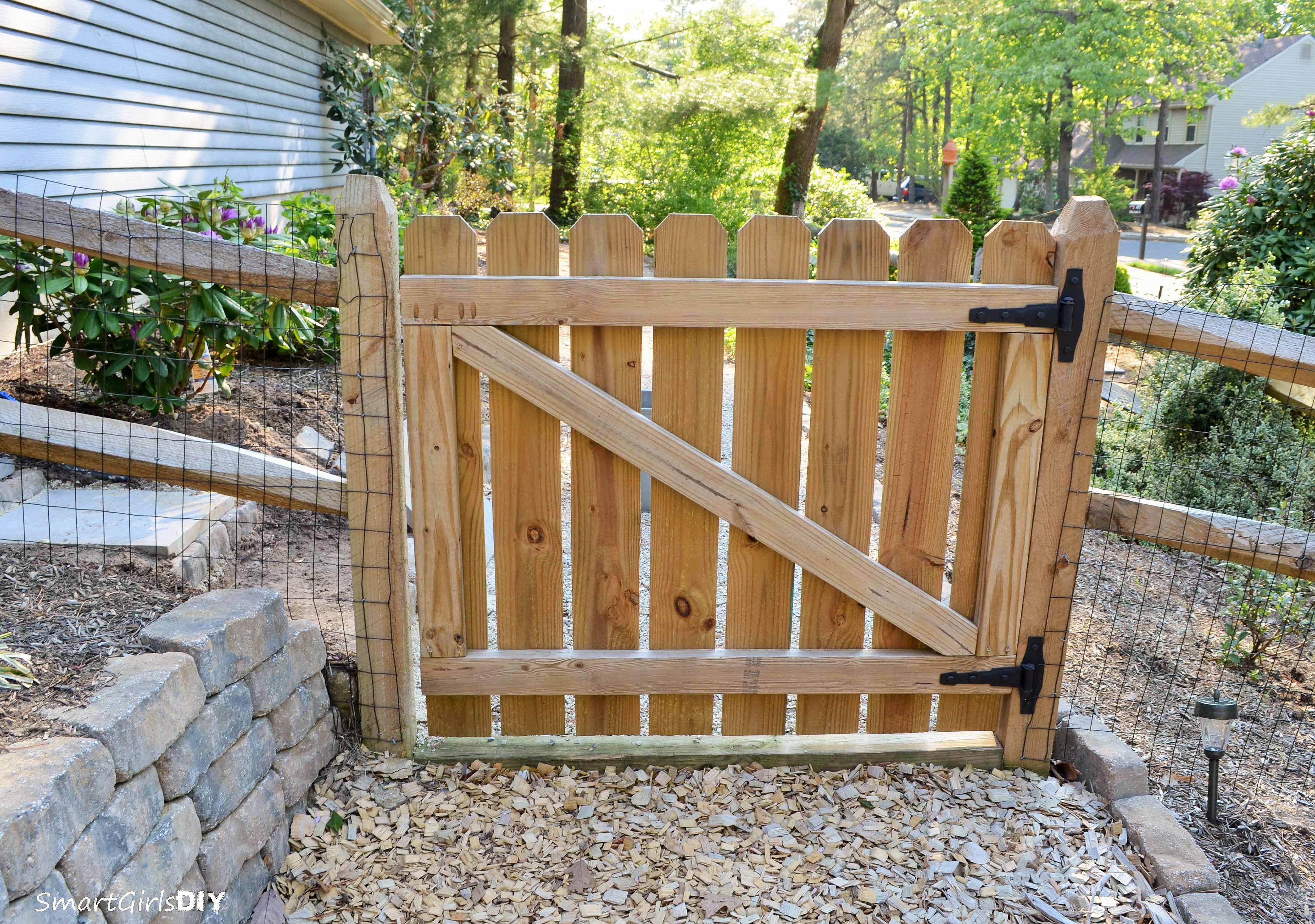 Building Wooden Gates Livestock Margarital64we