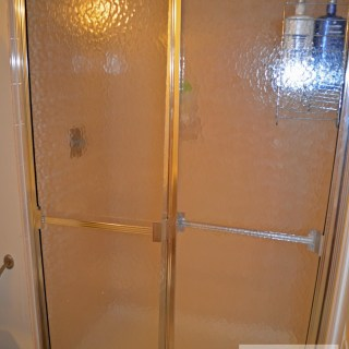 Guest Bathroom 1: Bye Bye Shower Doors